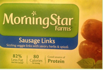 Morning Star Sausage Links