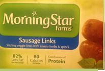 Morning Star Sausage Links