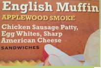 Smoky flavor sandwiches